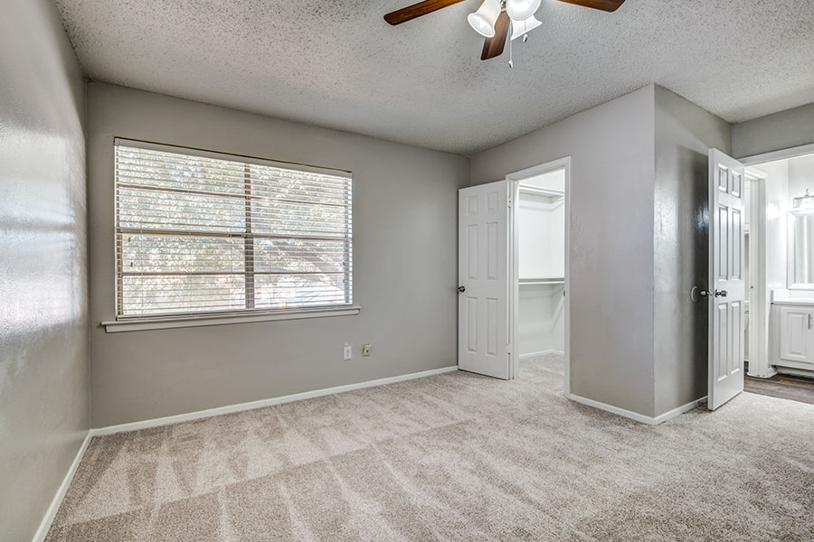 larger master bedroom suite.