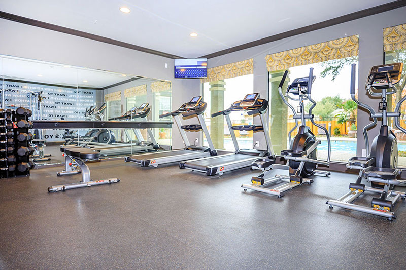 Fitness Center - Fully Equipped