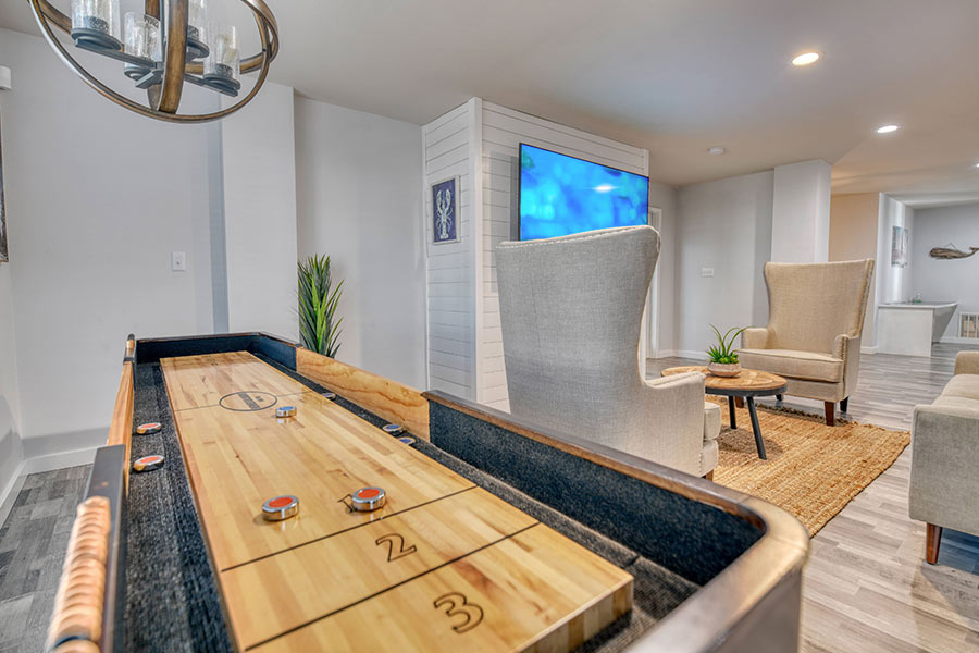 play at our fully-equipped clubhouse