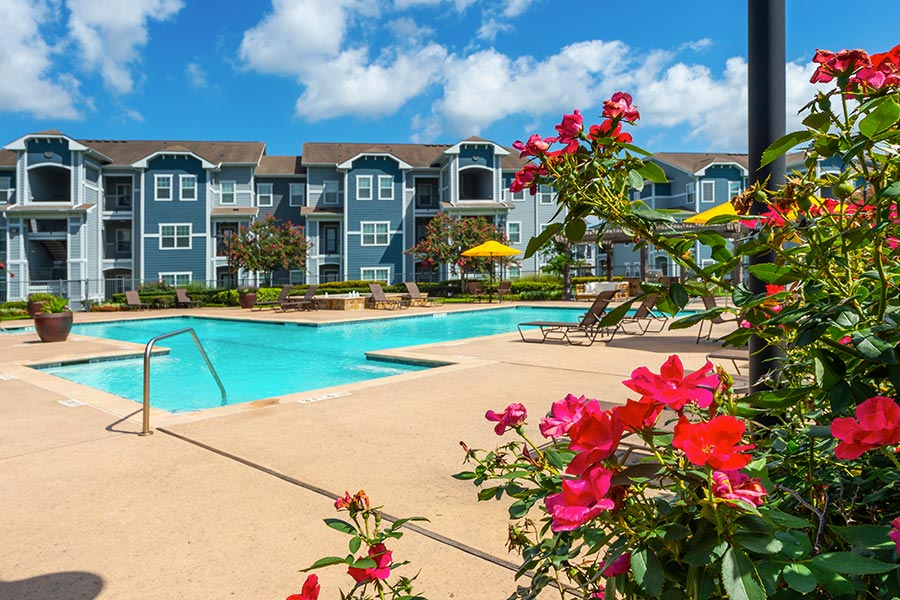 Our sparkling, resort-inspired community pool
