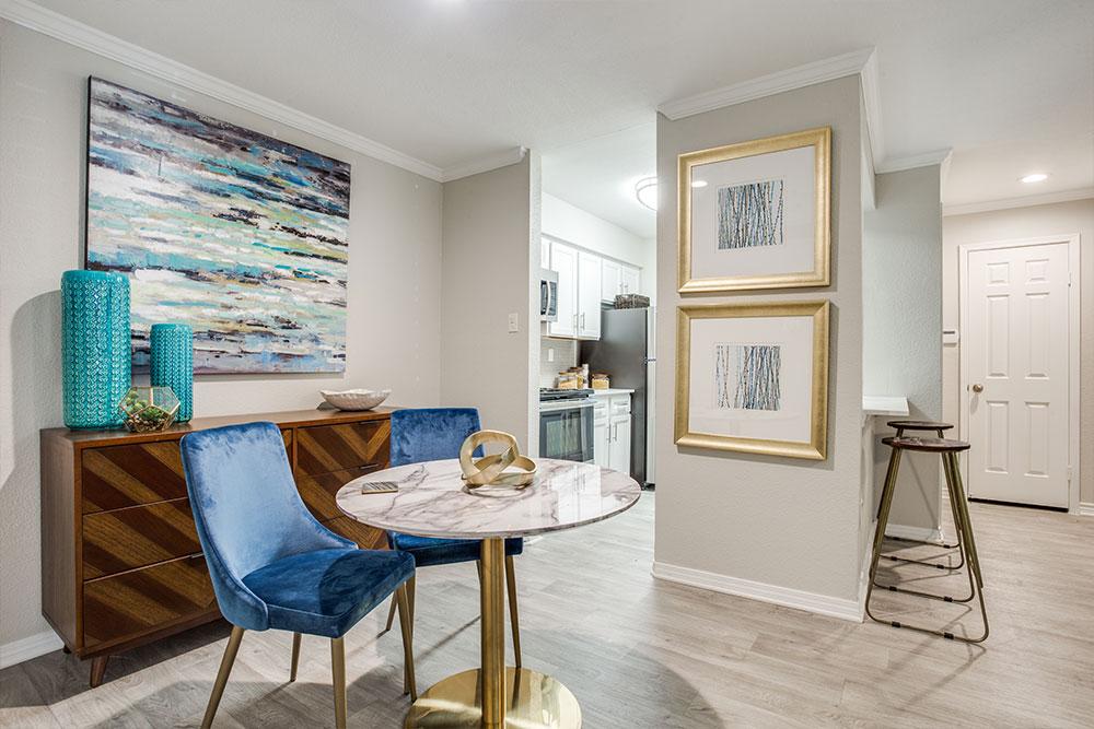 Upgraded apartments with Luxury Vinyl Plank Flooring