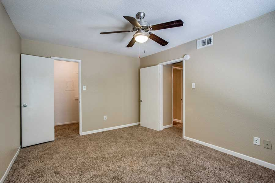 plank wood flooring and carpeting