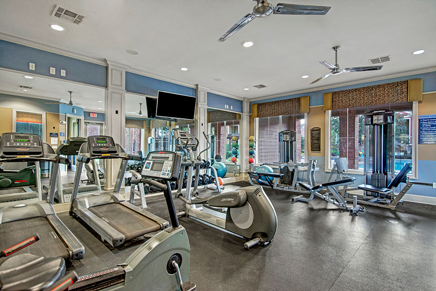 24-Hour HarborFit Fitness Center with Cardio & Strength Equipment