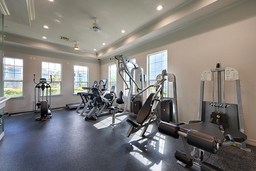Stay active and healthy at our top-notch fitness center