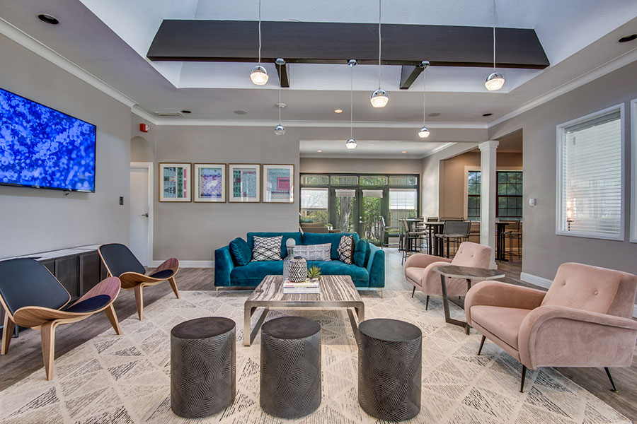Connect with fellow residents at our modern clubhouse!