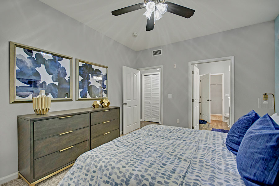 Expansive Walk-In Closets Throughout