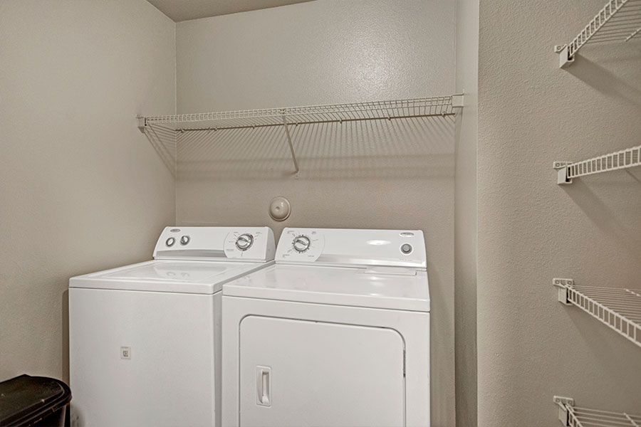 Full Size Washer & Dryer or Stackable Washer & Dryer