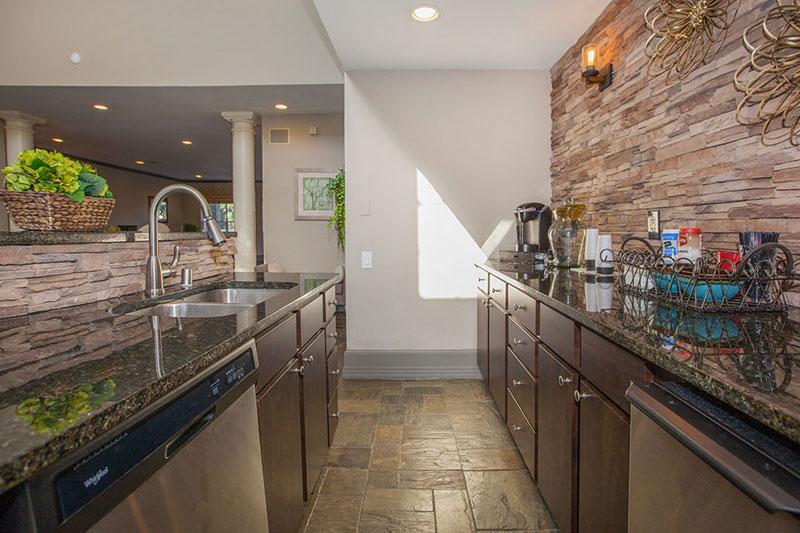 Kitchen in club house