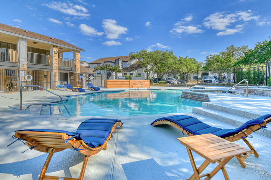 Resort-style swimming pools