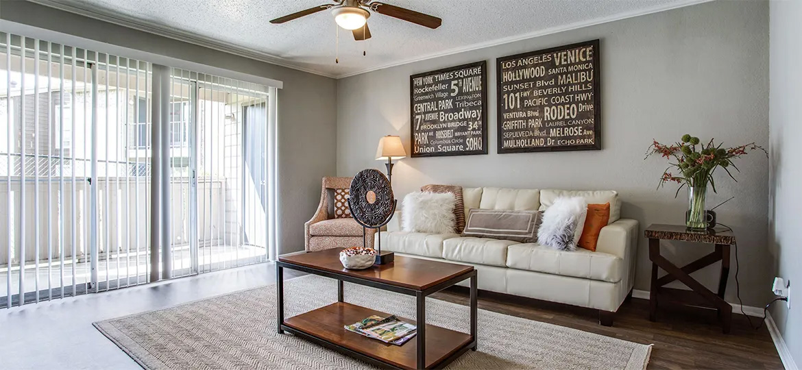 affordable studio, one-bedroom, and two-bedroom apartment