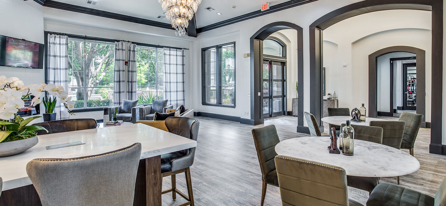 well-designed one-, two-, and three-bedroom floor plans